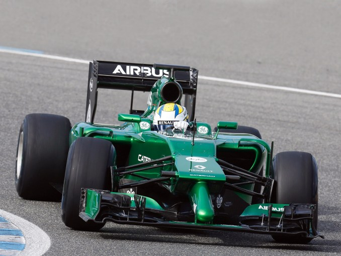 Caterham F1 Team CT05 2014