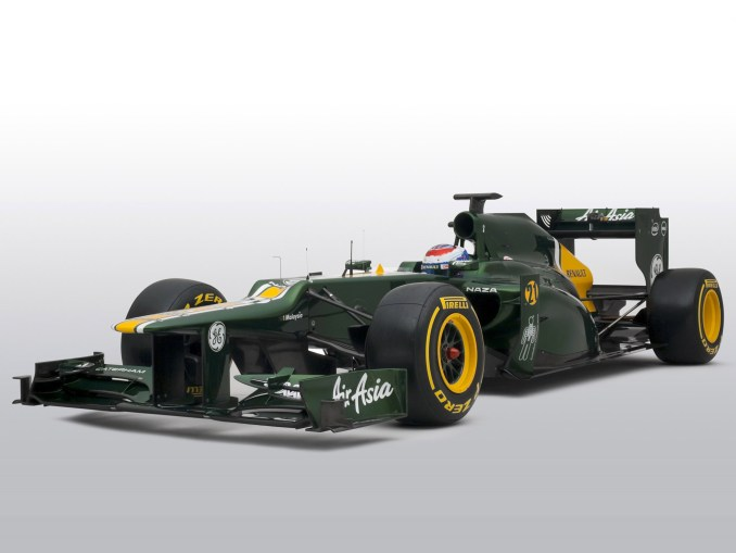 Caterham F1 Team Renault V8 CT01 2012