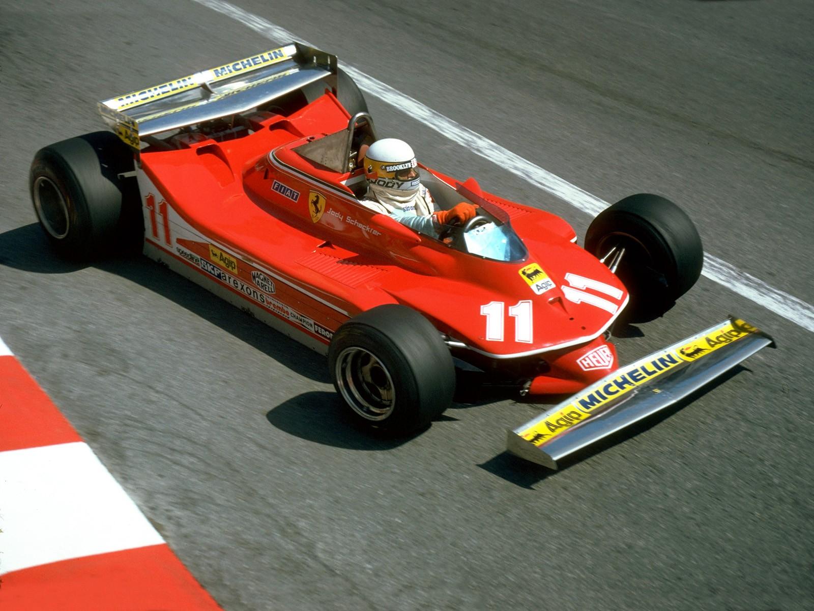 Ferrari 312 T4 F12 F1 1979