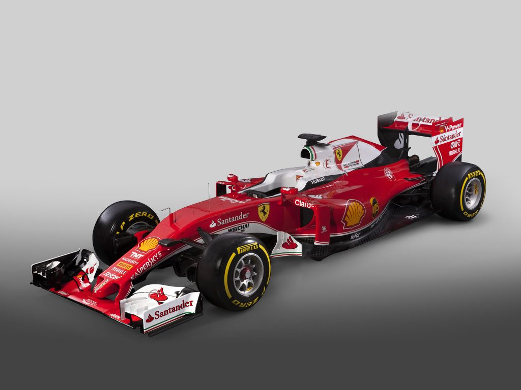 Ferrari V6 Turbo Hybrid SF16 H 2016