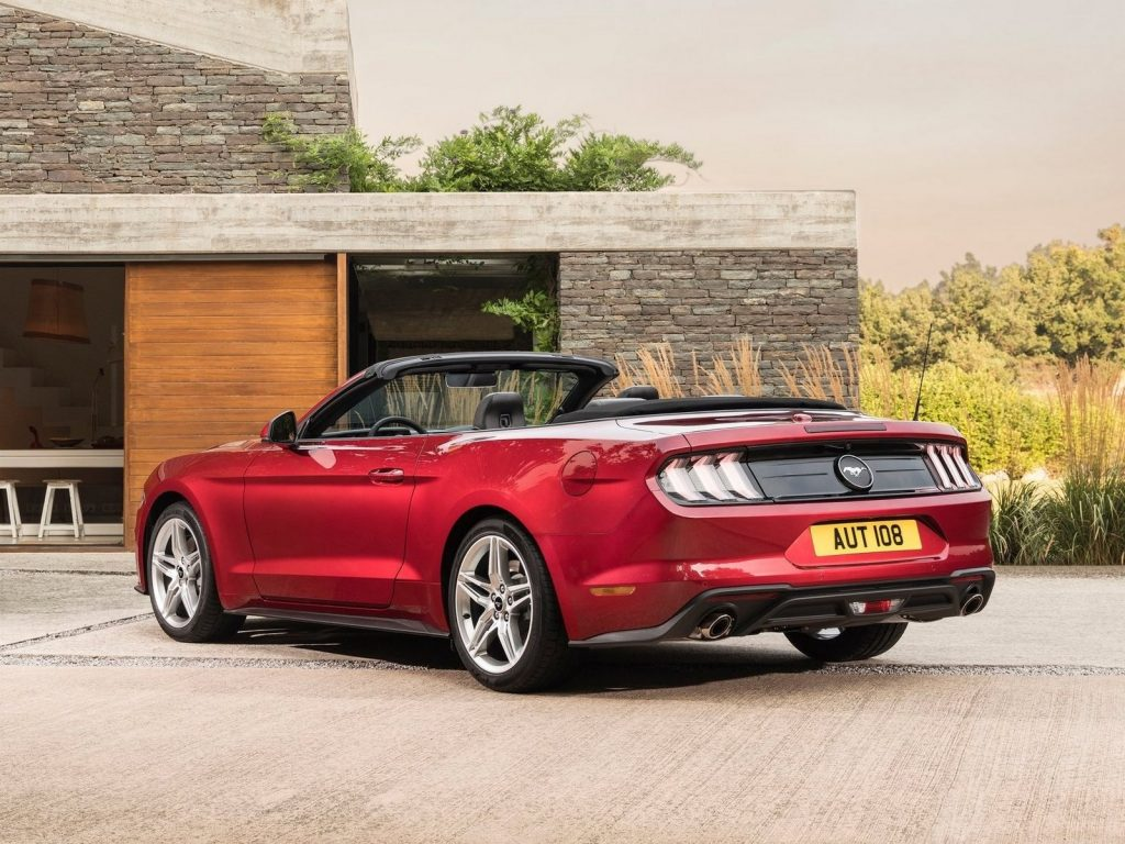 Ford Mustang Convertible EU Version 2018