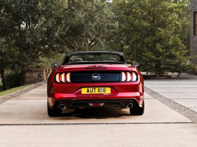 Ford Mustang Convertible EU Version 2018