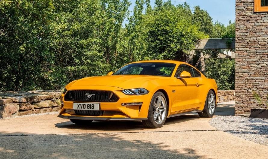 Ford Mustang GT 2018 – Plus d'équipements technologiques.