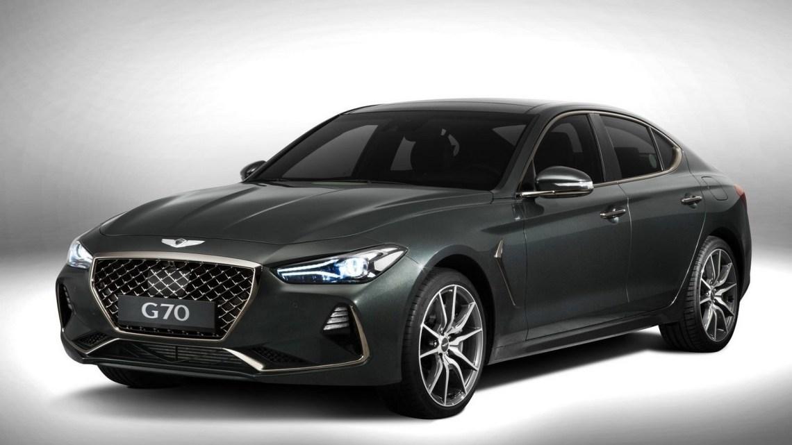 Hyundai Genesis G70 2018 – Le segment des berlines compactes