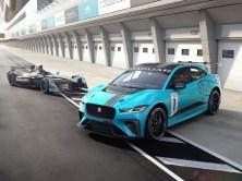 Jaguar I-Pace eTrophy Racecar 2018