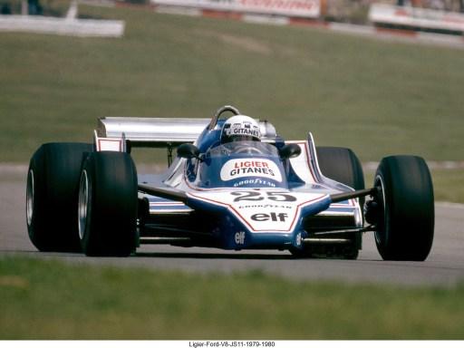 Ligier Ford V8 JS11 1979 1980