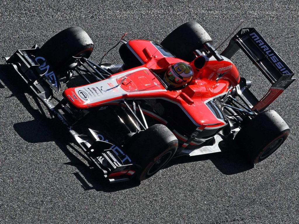Marussia F1-Team Cosworth MR02 2013