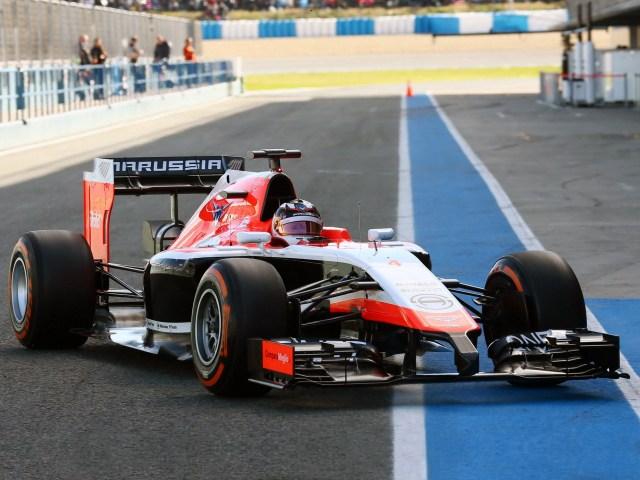 Marussia F1 Team MR03 2014
