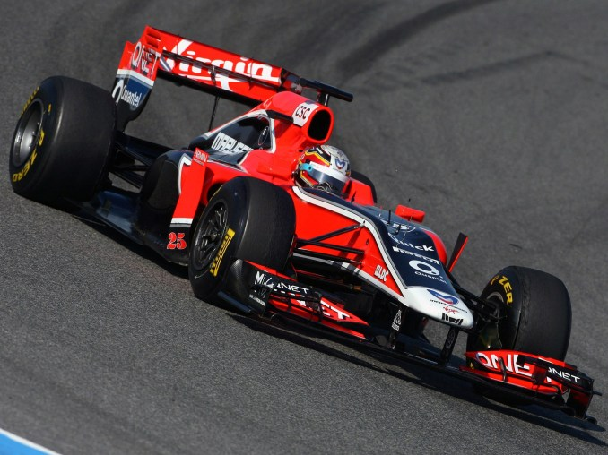Marussia F1 Team Virgin Racing Cosworth V8 MVR-02 2011