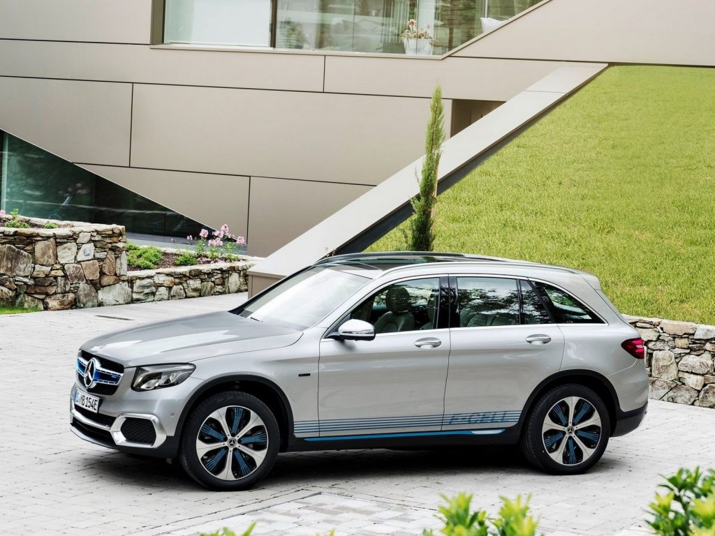 Mercedes GLC F-Cell Concept 2017