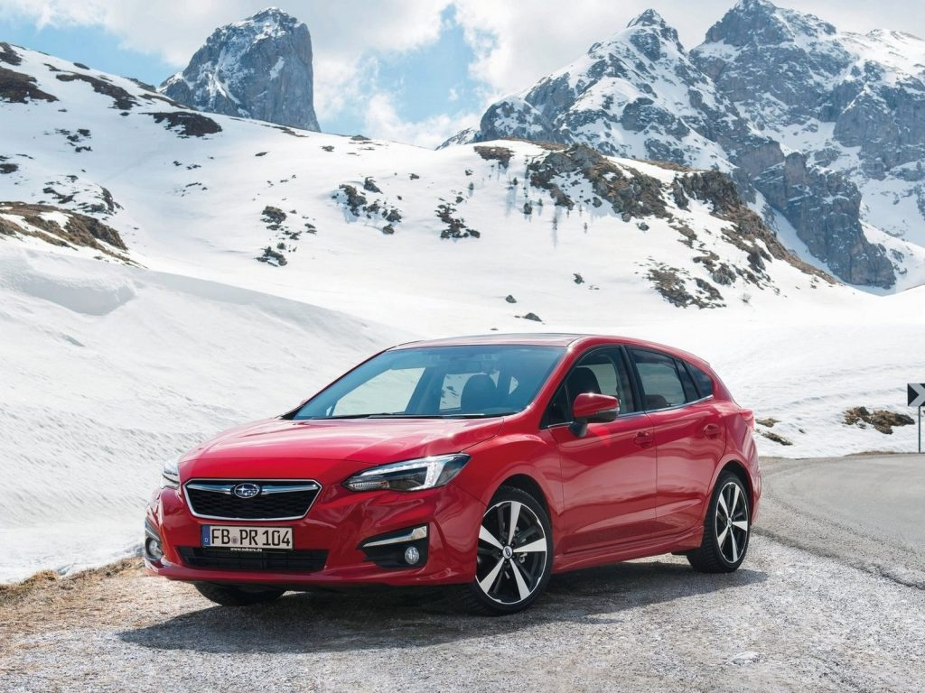 Subaru Impreza EU Version 2018