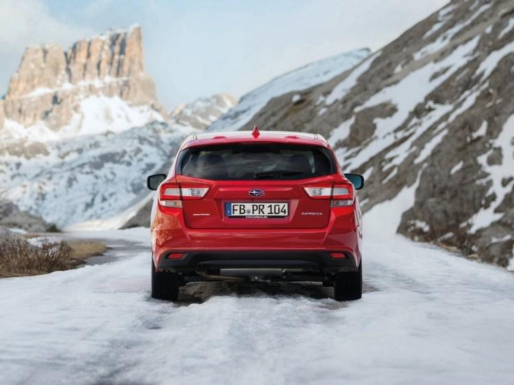 Subaru Impreza EU Version 2018