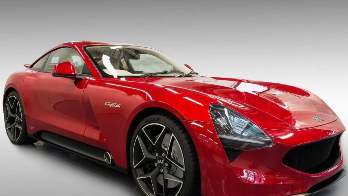 TVR Griffith 2019 :- Moteur 5.0l V8 d'origineFord