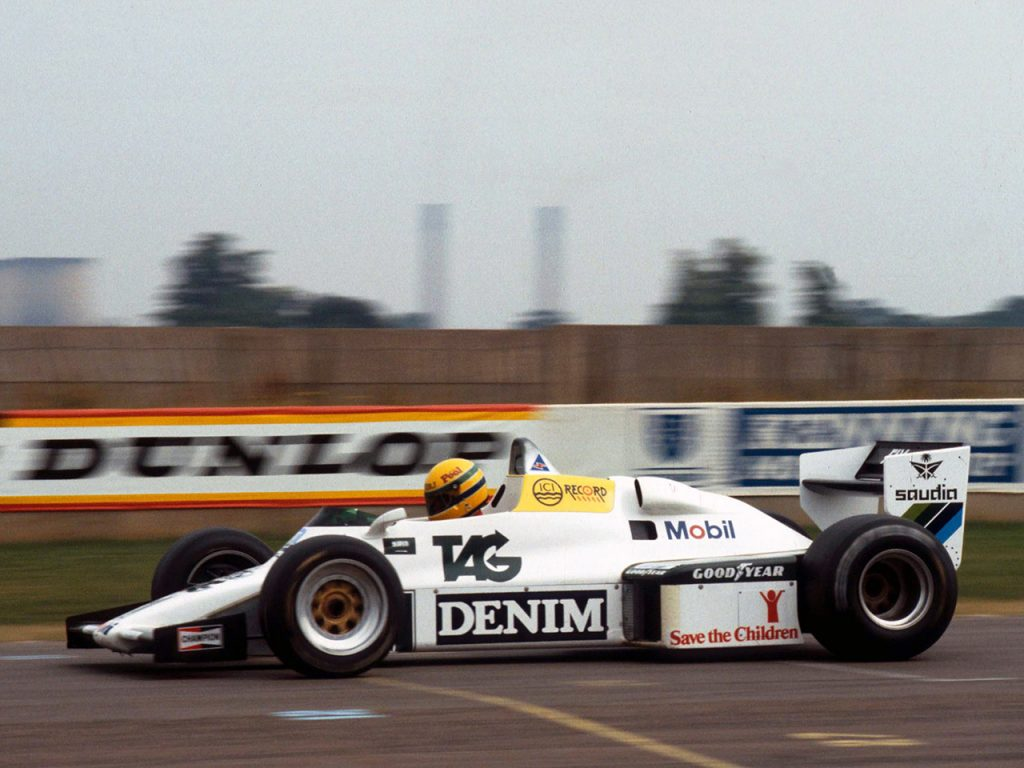 Williams Ford Cosworth V8 FW08C 1983 - Formule 1