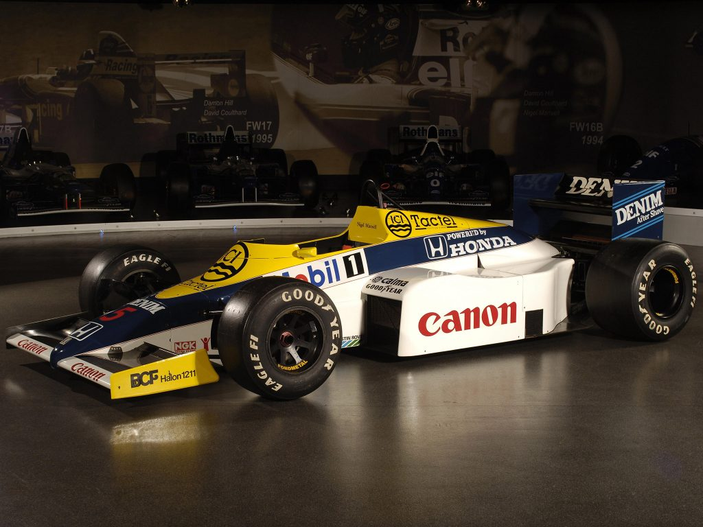 Williams Honda V6 Turbo FW10 1985 - Formule 1