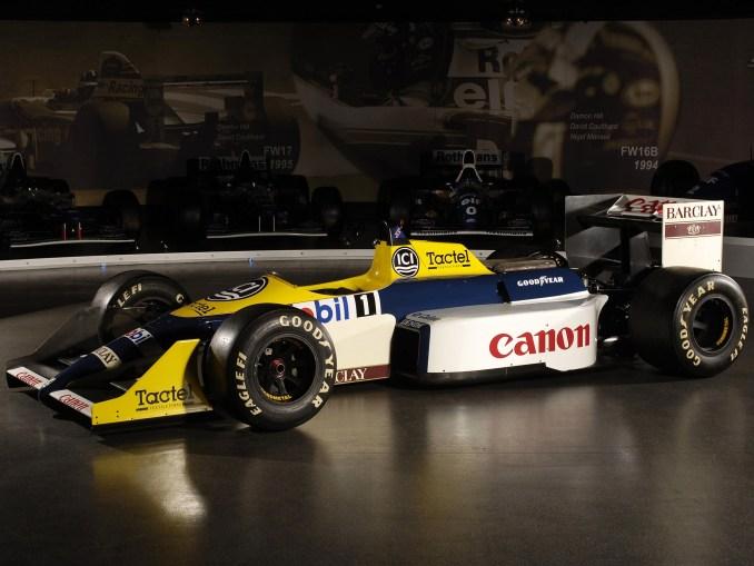 Williams Honda V6 Turbo FW11C 1987 1988 - Formule 1