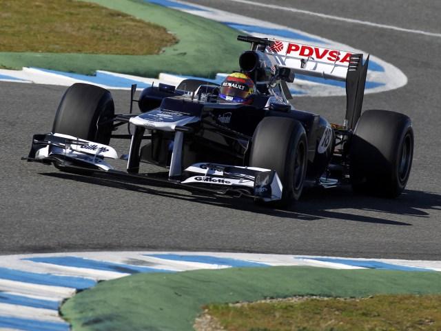 Williams Renault V8 FW34 2012