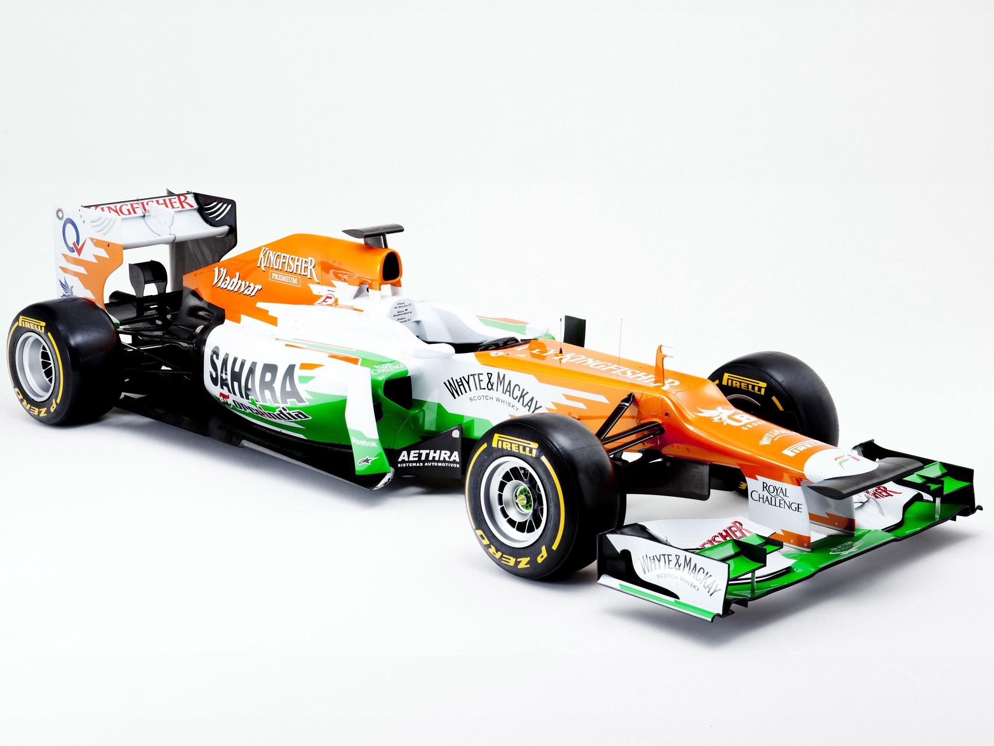 Force India Mercedes V8 vjm05 2012