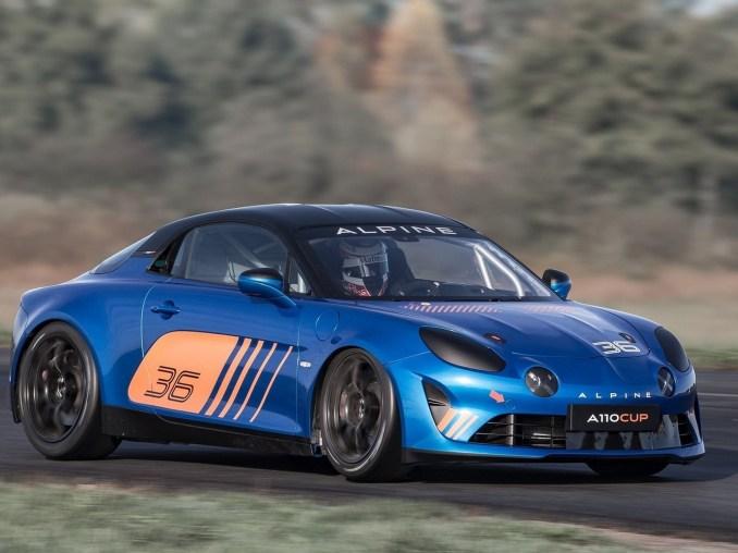 Alpine A110 Cup 2018