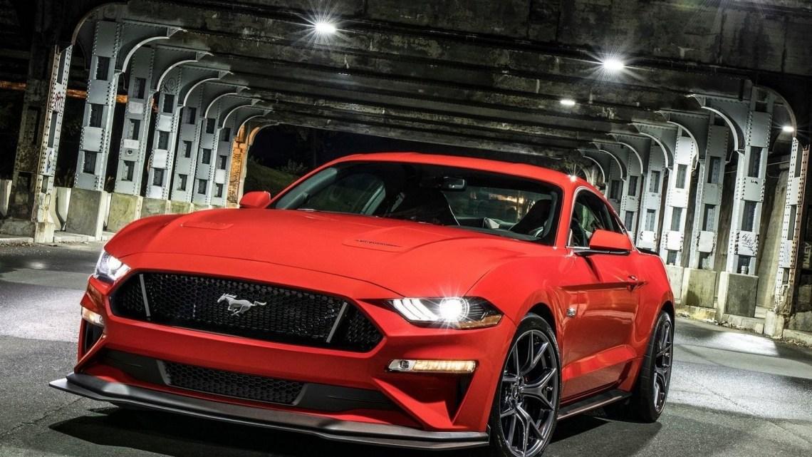 Ford Mustang GT Performance Pack Level 2 2018: Aérodynamique et mises à niveau