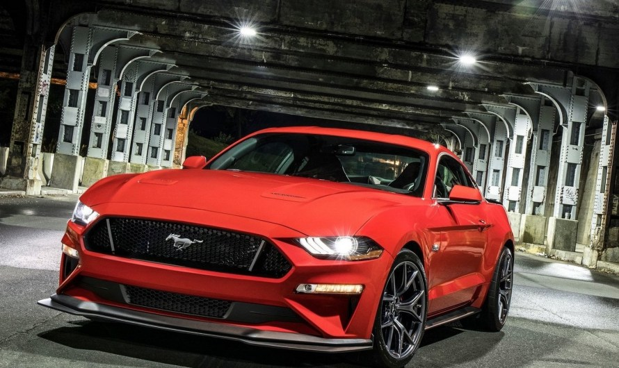 Ford Mustang GT Performance Pack Level 2 2018 – Aérodynamique et mises à niveau