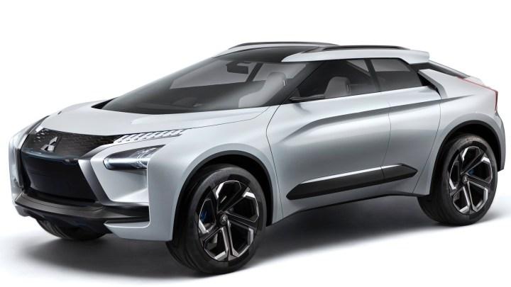 """Mitsubishi e-Evolution 2017 – Un look futuriste, proche de la """"Batmobile"""""""