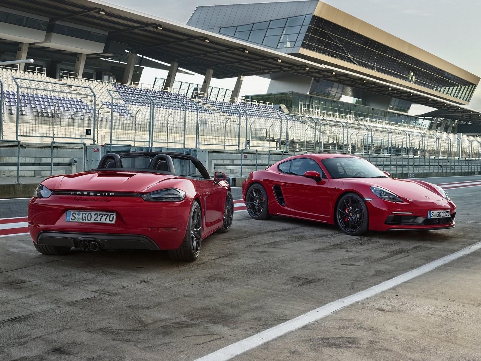 Porsche 718 Cayman et Boxster GTS 2018