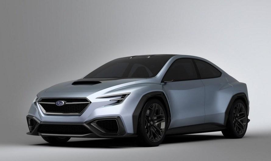 Subaru VIZIV Performance Concept 2017 : Berline avec combinaison sport