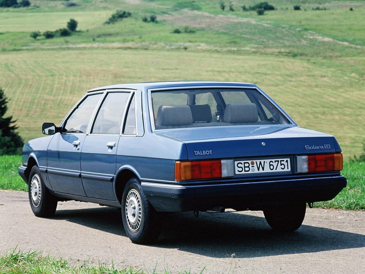 1980 Talbot Solara