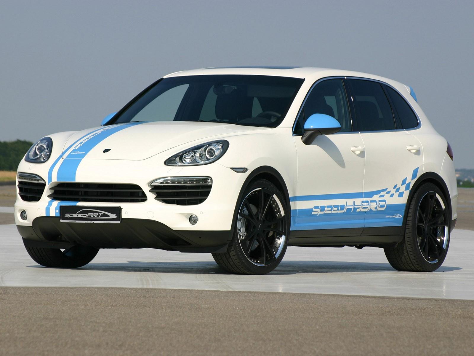 2010 Speedart Porsche Cayenne Hybrid Speedhybrid 450