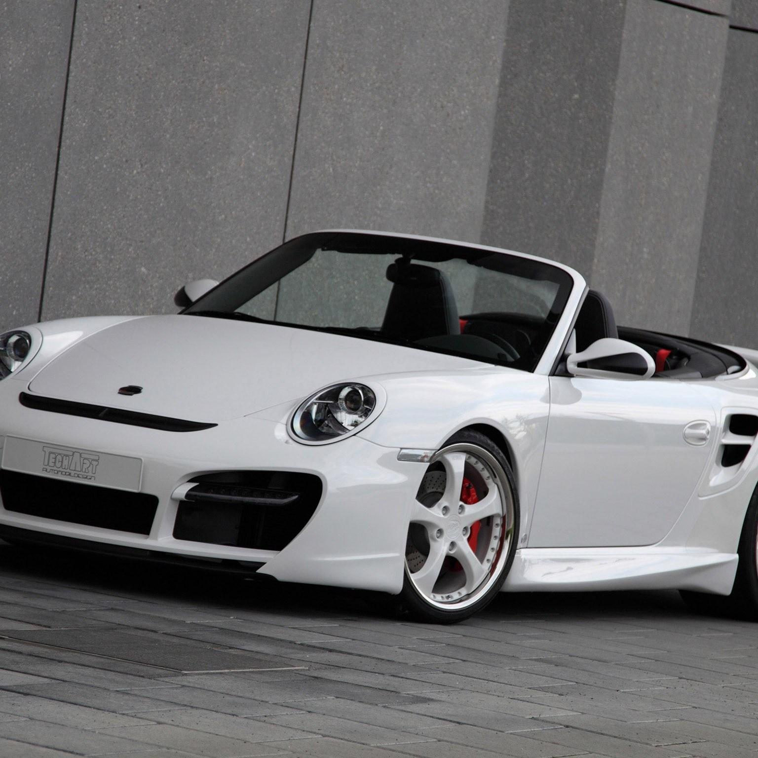 2010 Techart Porsche 911 Cabrio Turbo Aerokit II