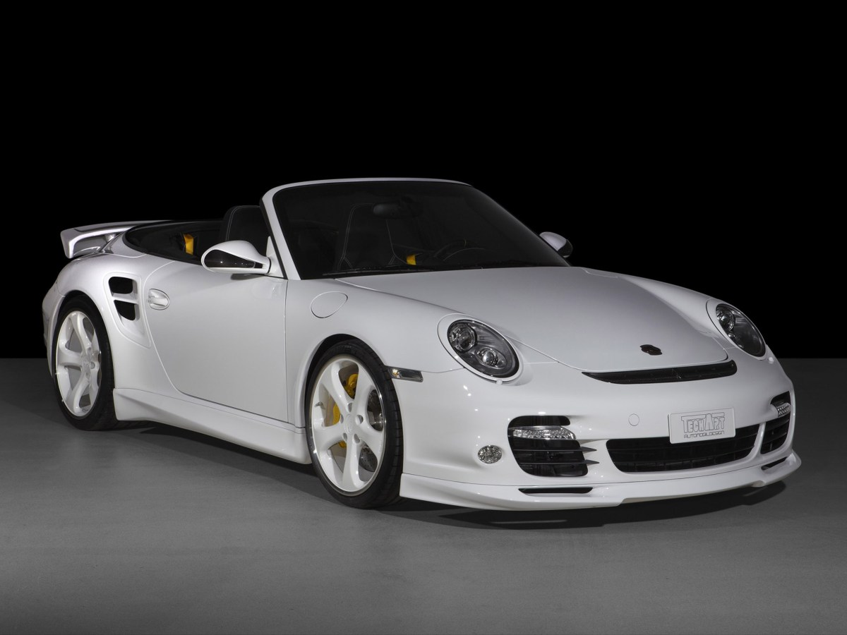 2010 Techart Porsche 911 Turbo Cabriolet