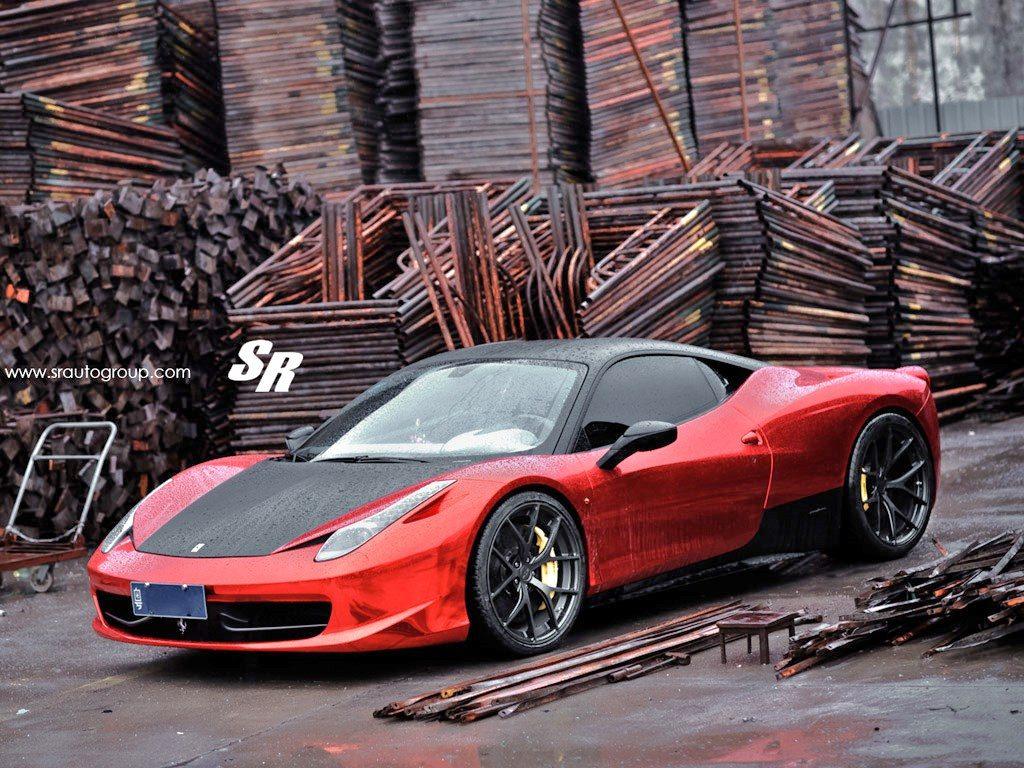 2012 SR Auto Ferrari 458 Italia