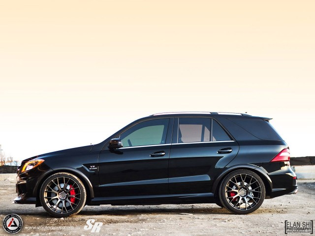 2013 SR Auto Mercedes ML63 Inspired Autosport