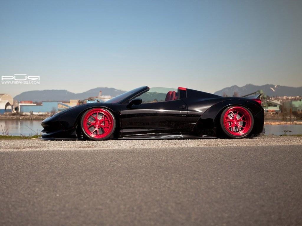 Ferrari 458 Spider - Liberty Walk - SR Auto 2015