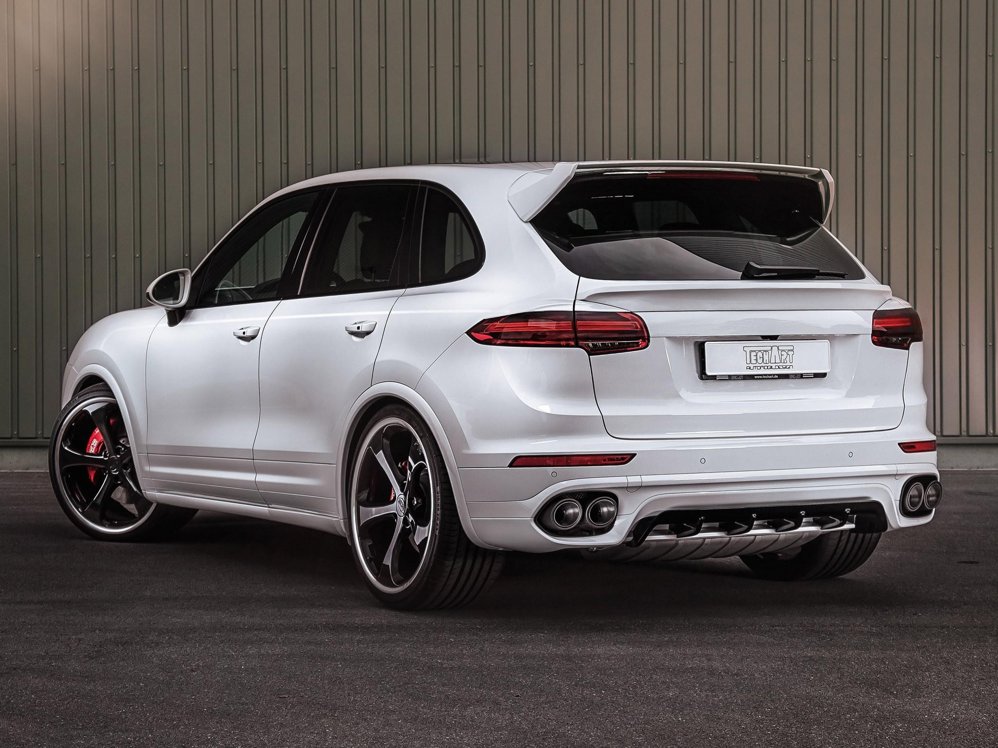 2015 Techart Porsche Cayenne 958