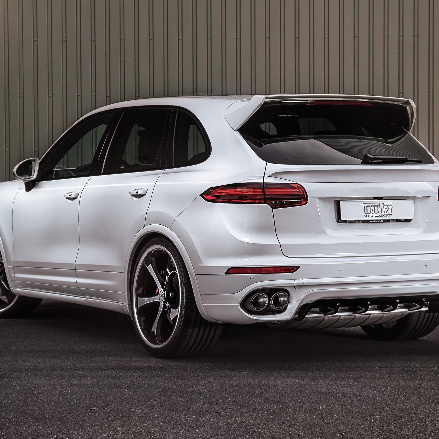 2015 Techart Porsche Cayenne 958