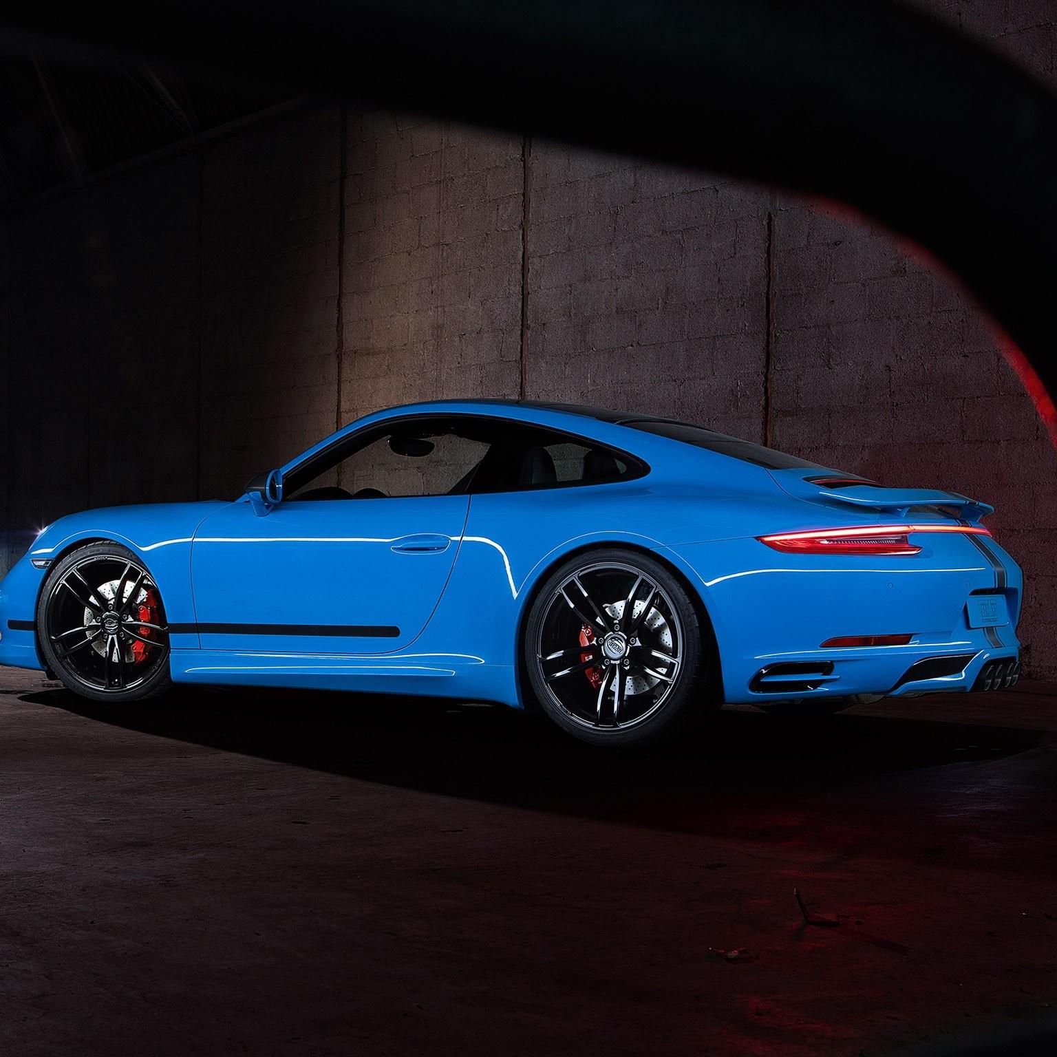 2016 Techart Porsche 911 Carrera 4s Coupe 991