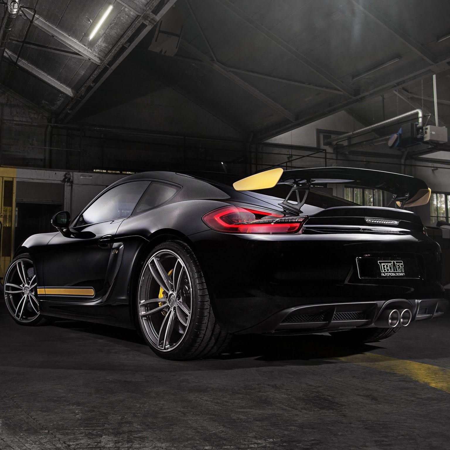 2016 Techart Porsche Cayman GT4 981c