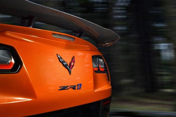 Chevrolet Corvette ZR1 2019 Sebring Orange