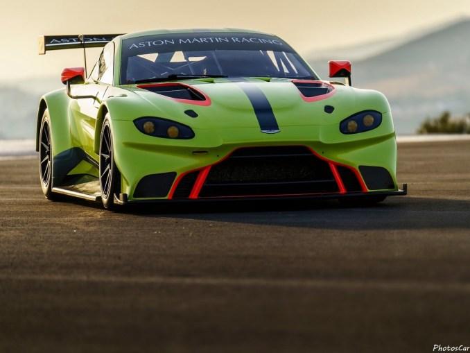 Aston Martin Vantage GTE Racecar 2018