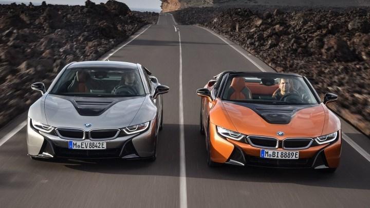 BMW i8 Coupe et Roadster 2019 : MAJ des systèmes d'infodivertissement