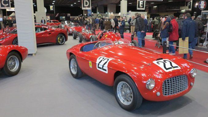Retromobile 2017 - Ferrari 166 MM