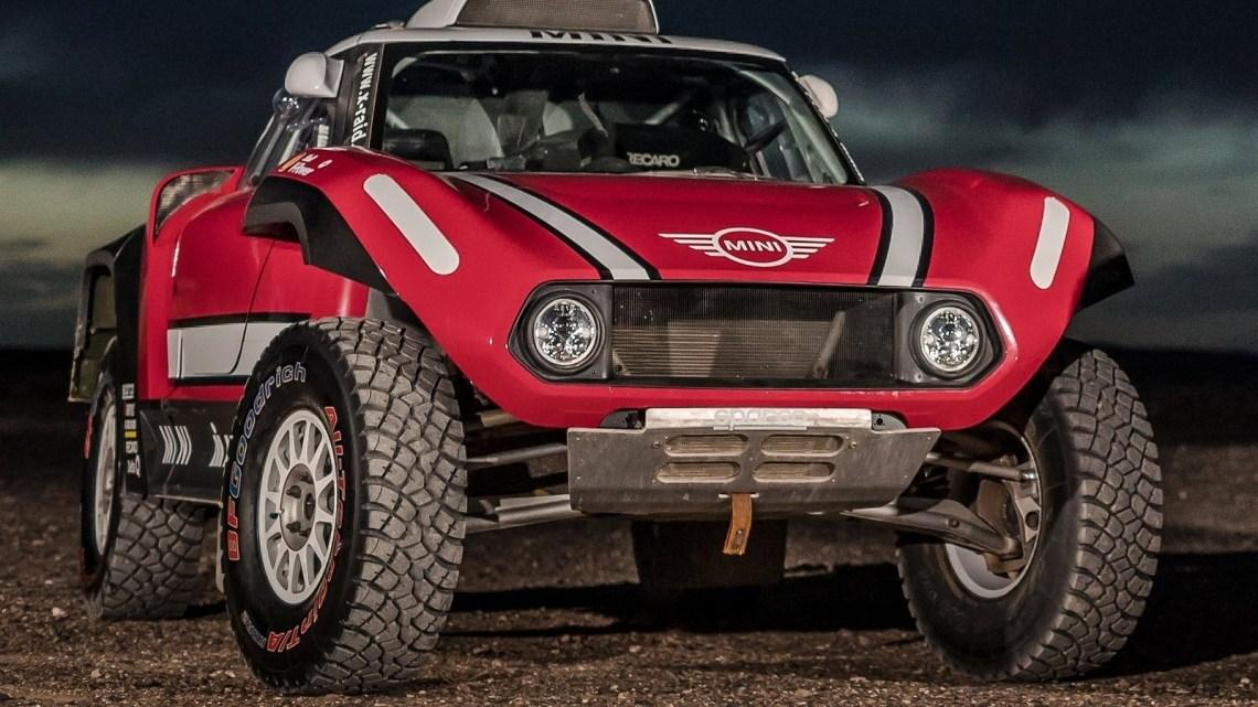 La Mini JCW Buggy pour le Dakar 2018 présenté par le Team X-Raid