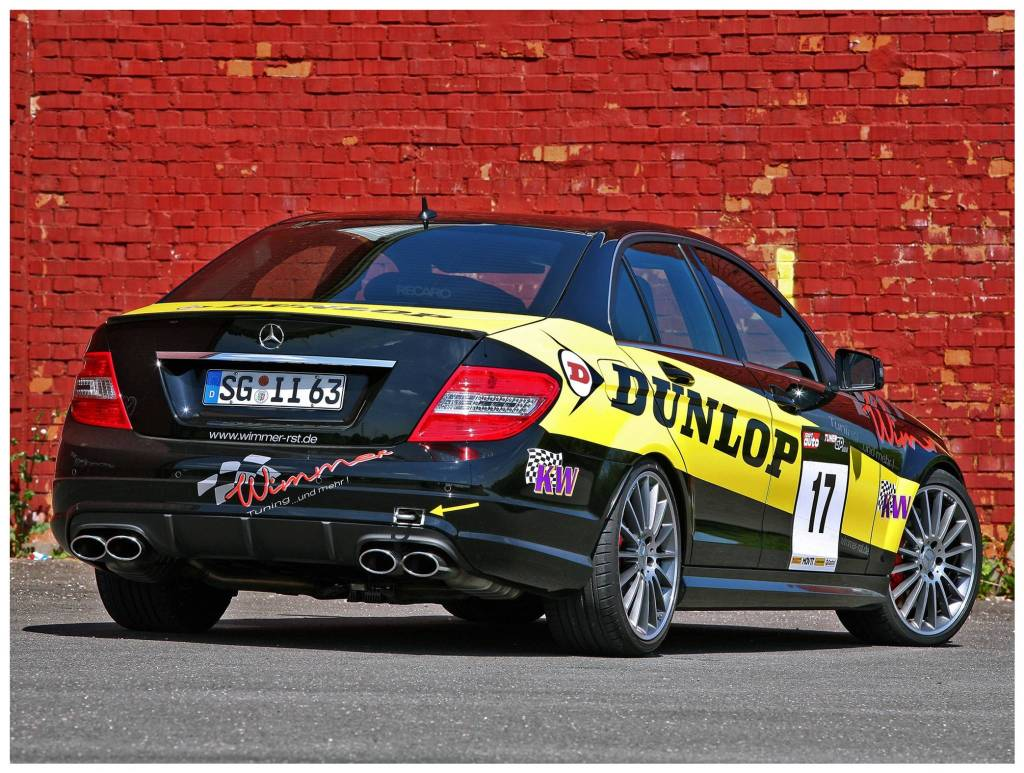 2010 Wimmer-RS - Mercedes AMG C63 Dunlop Performance W204