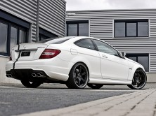 2012 Wheelsandmore Mercedes C63 AMG Coupe