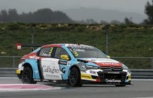 2016 Wtcc - Paul-Ricard - Citroen C-Elysee - Tom CHILTON