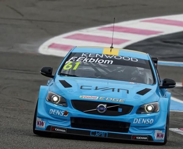 2016 Wtcc - Paul-Ricard - Volvo -Team-POLESTAR-FREDRIK EKBLOM