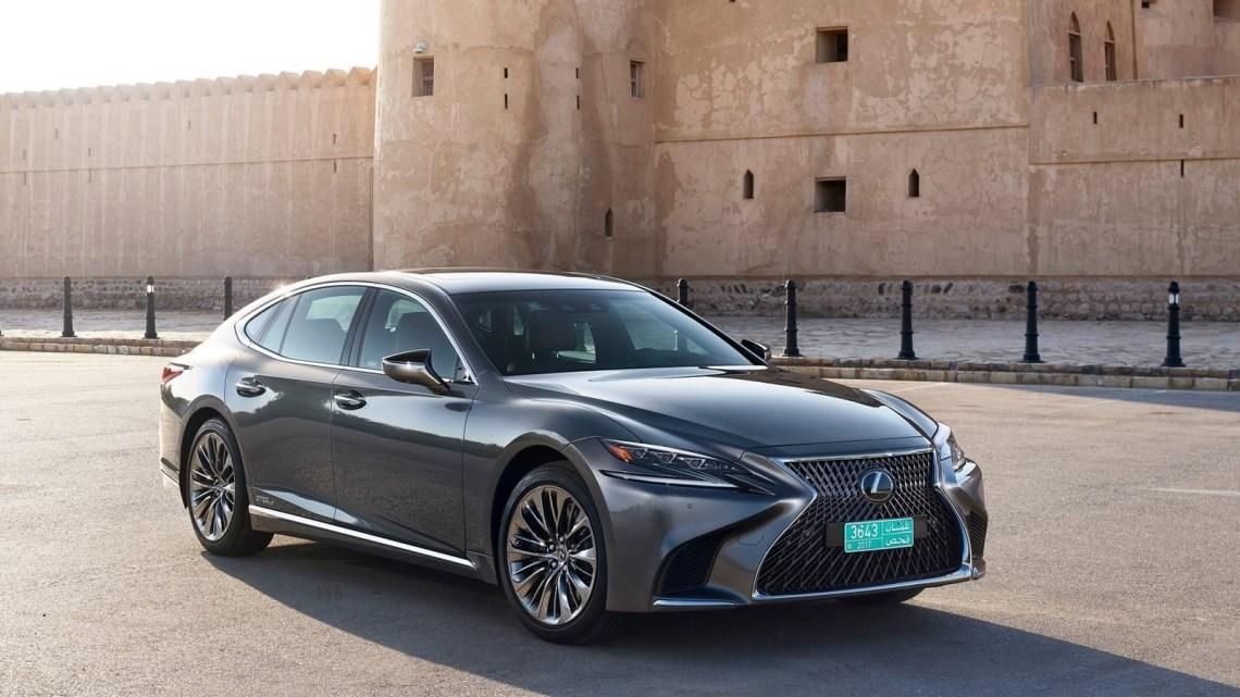 La Lexus LS 500h 2018 fera ses débuts au Salon de l'auto de Genève