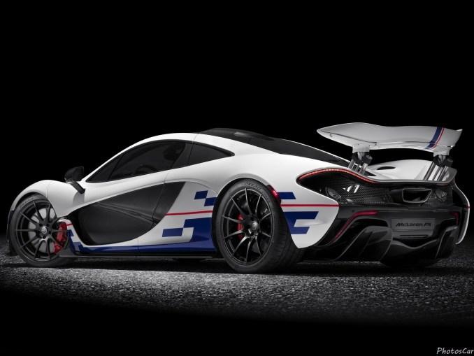 McLaren P1 Prost 2015